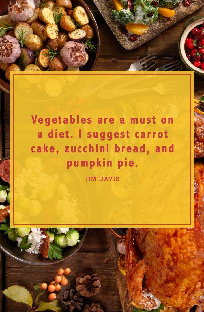 funny thanksgiving quotes jim davis