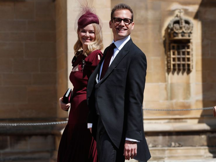 Gabriel Macht and Jacinda Barrett