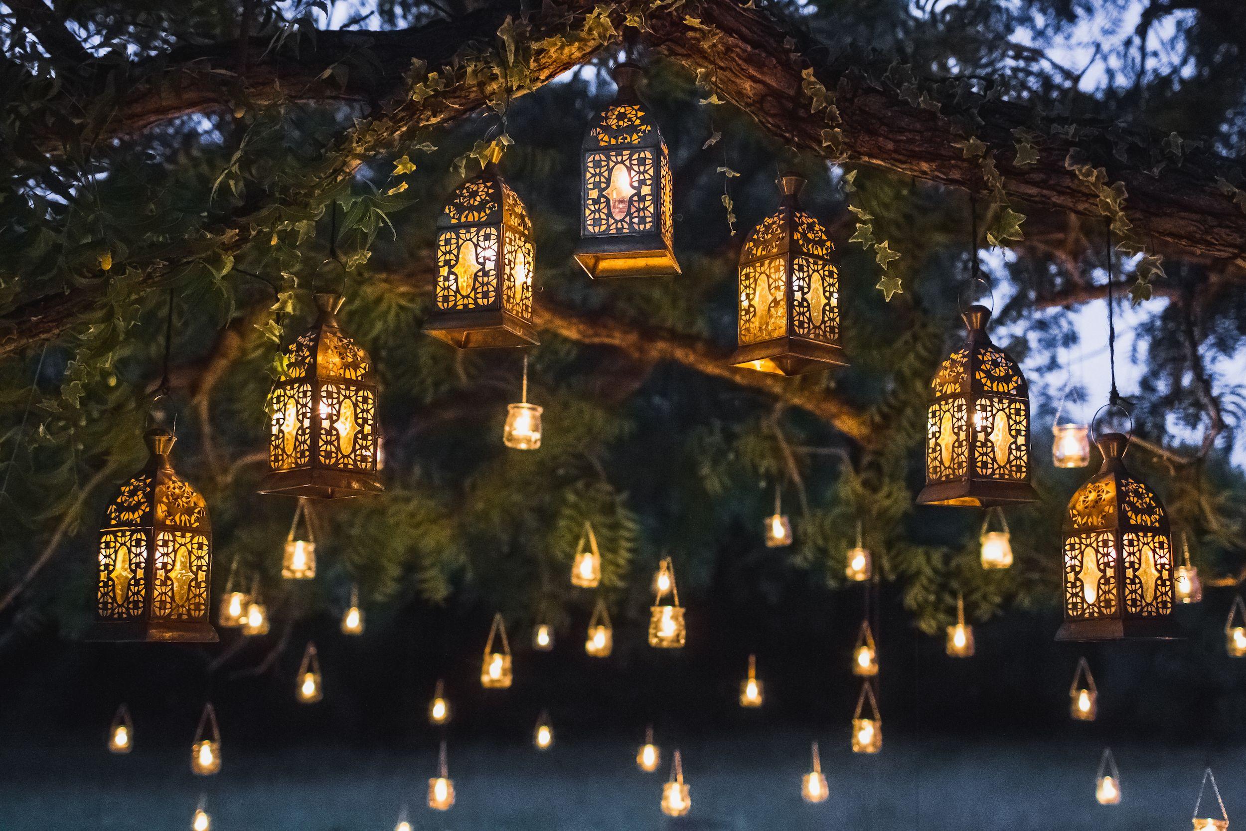 garden lighting ideas solar lights