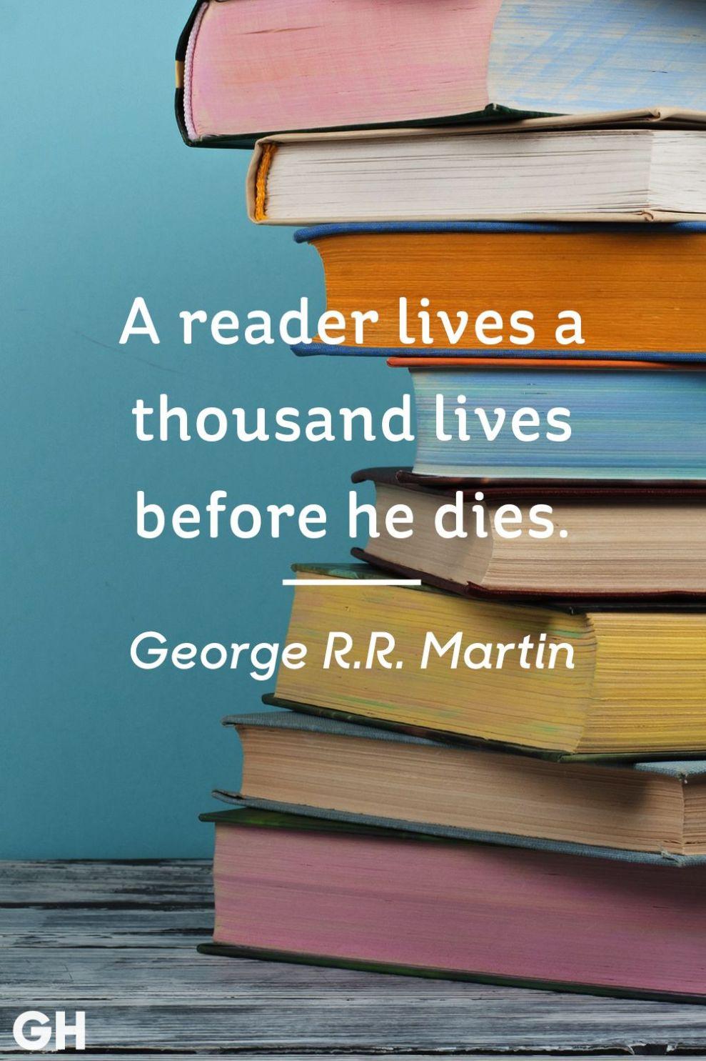 George R.R. Martin Book Quote