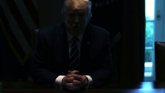 Image result for trump lights out