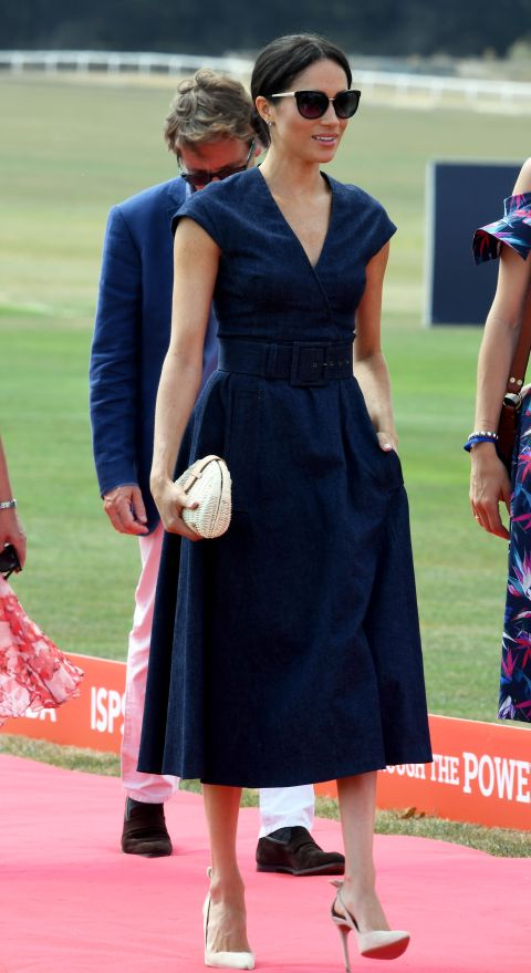 Meghan Markle at polo