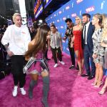 Ariana Grande and fiance Pete Davidson red carpet debut at the 2018 MTV Vma's