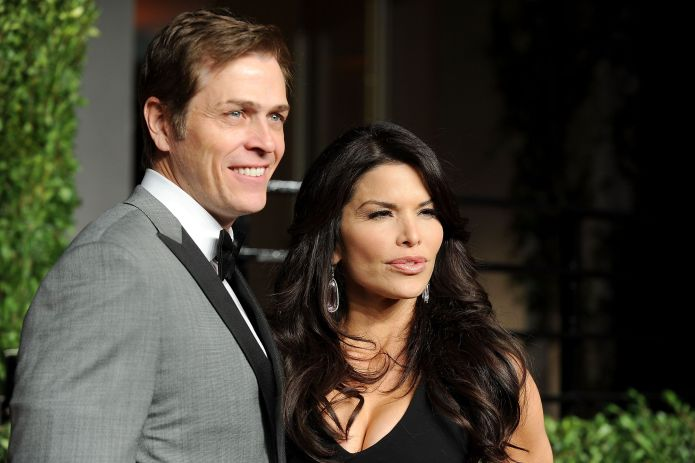 west hollywood, ca february 27 patrick whitesell and lauren sanchez arrive at the vanity fair oscar party hosted by graydon carter held at sunset tower on february 27, 2011 in west hollywood, california photo by pascal le segretaingetty images