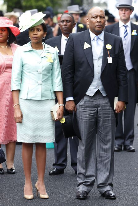 Perempuan biasa menikahi anggota keluarga kerajaan: 'Masenate Mohato Seeiso