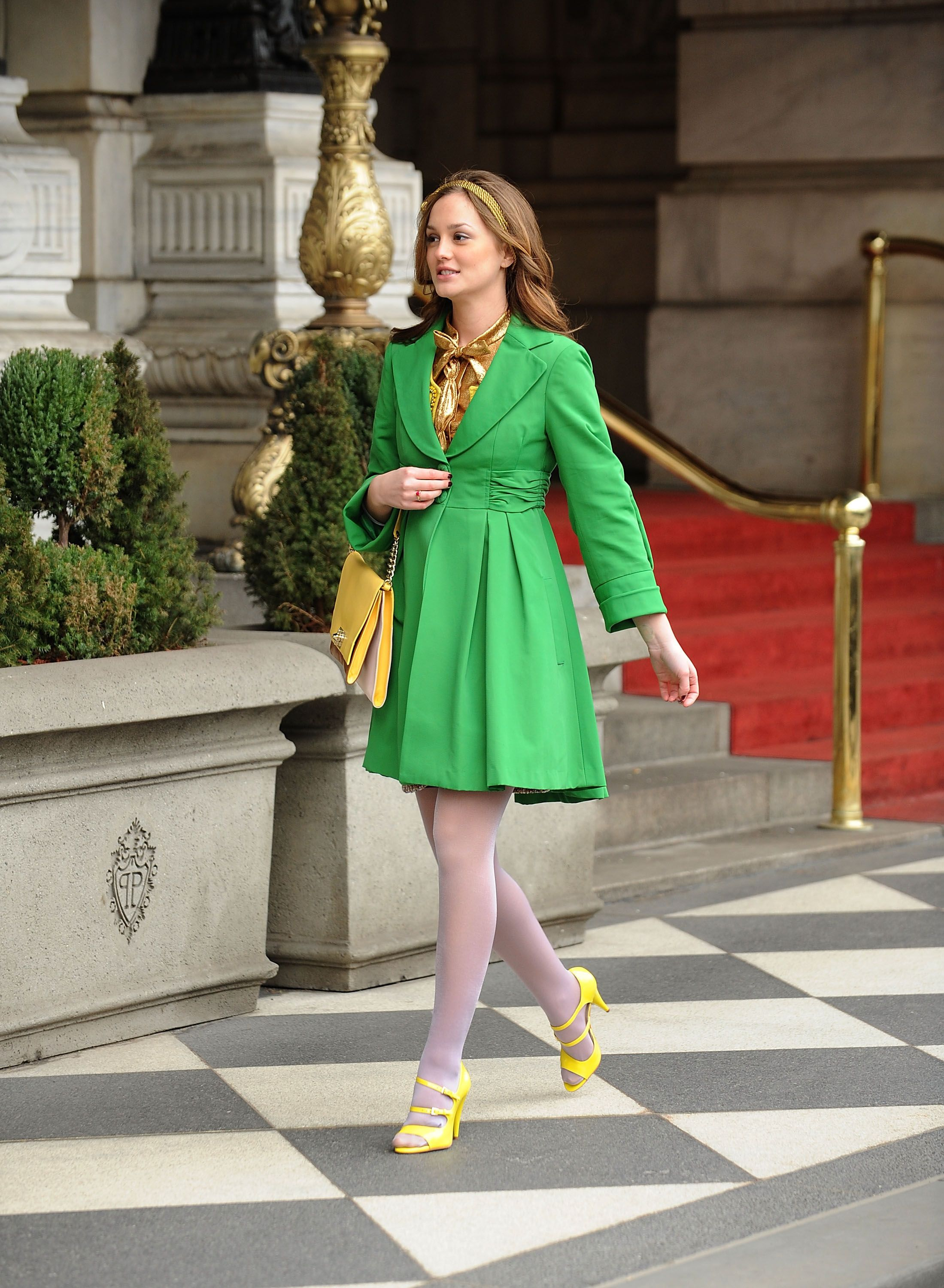 """On Location For """"Gossip Girl"""" - March 16, 2009"""