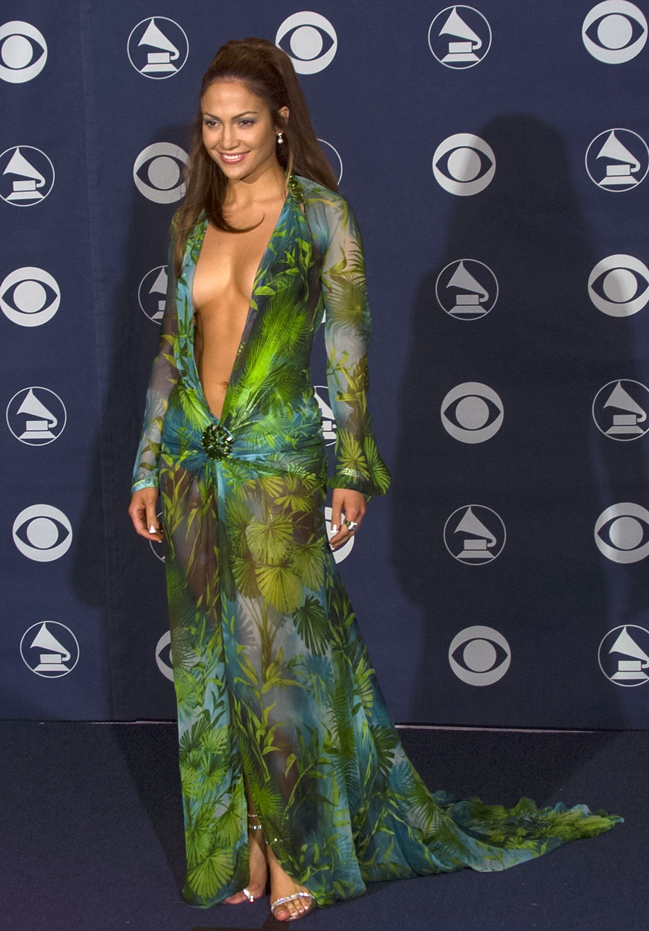 Jennifer Lopez at Grammy Awards
