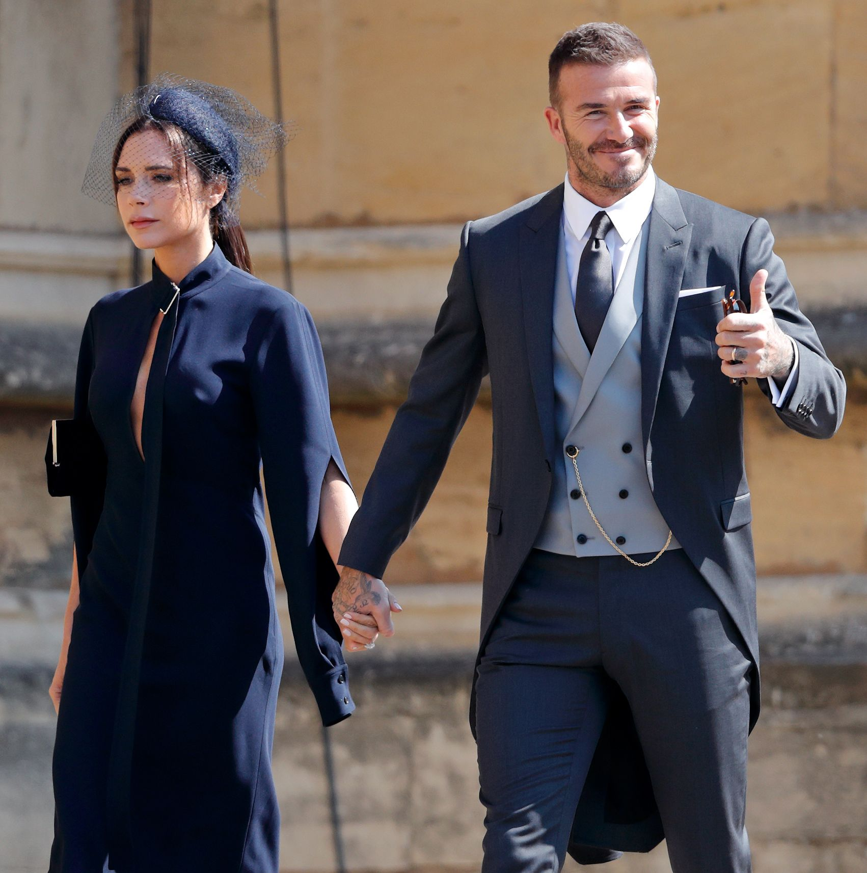 Victoria Beckham Responds To Criticism Over Not Smiling At