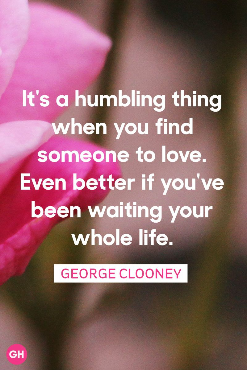 Best Famous Quotes   60 Famous Quotes About Happiness  Love  and     george clooney famous love quotes