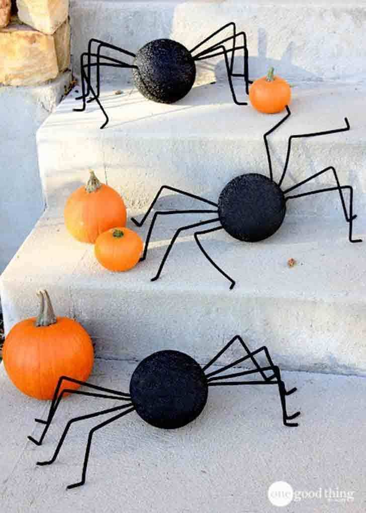 When a witch lands on your mailbox, you know it. 75 Easy Diy Halloween Decorations Cheap Halloween Decor Ideas