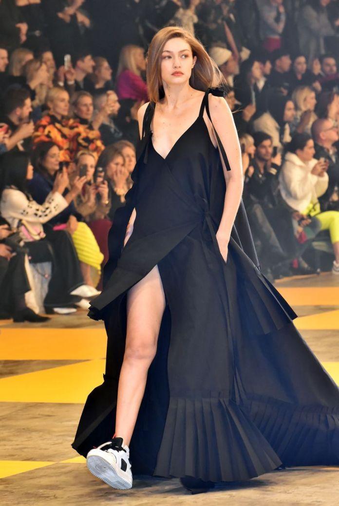 "Gigi Hadid Was a ""Few Months"" Pregnant During Fashion Month"