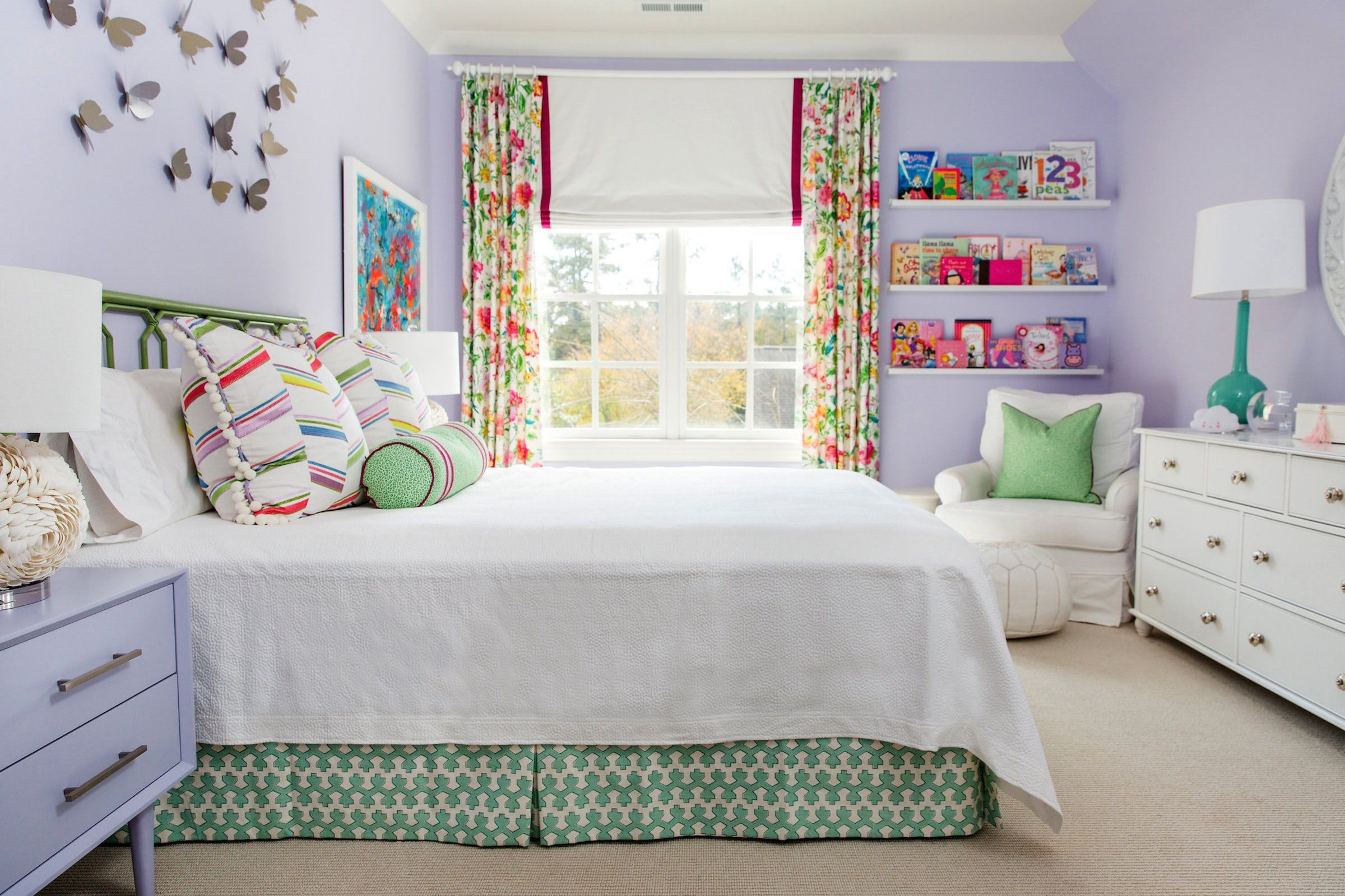 15 Creative Girls Room Ideas - How to Decorate a Girl's ... on Decorate Girls Room  id=47050