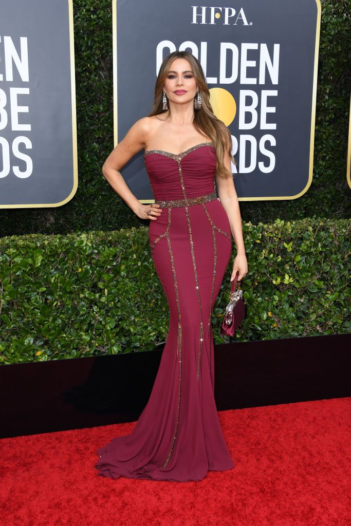 Golden Globes Red Carpet Dresses 2020 - Sofia Vergara