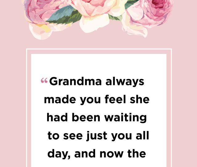 Marcy Demaree Grandma Quote