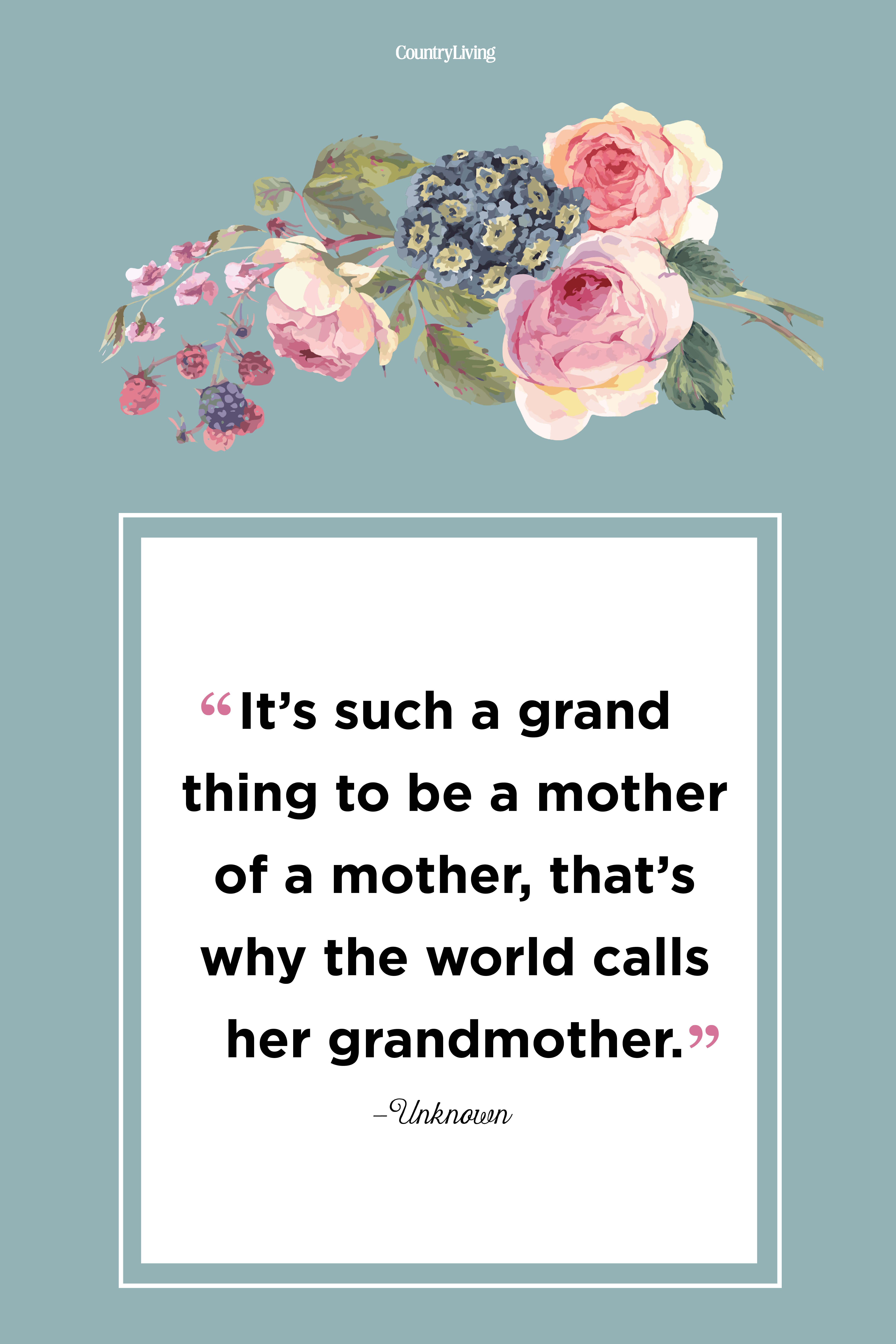 20 Grandma Love Quotes - Best Grandmother Quotes and Sayings