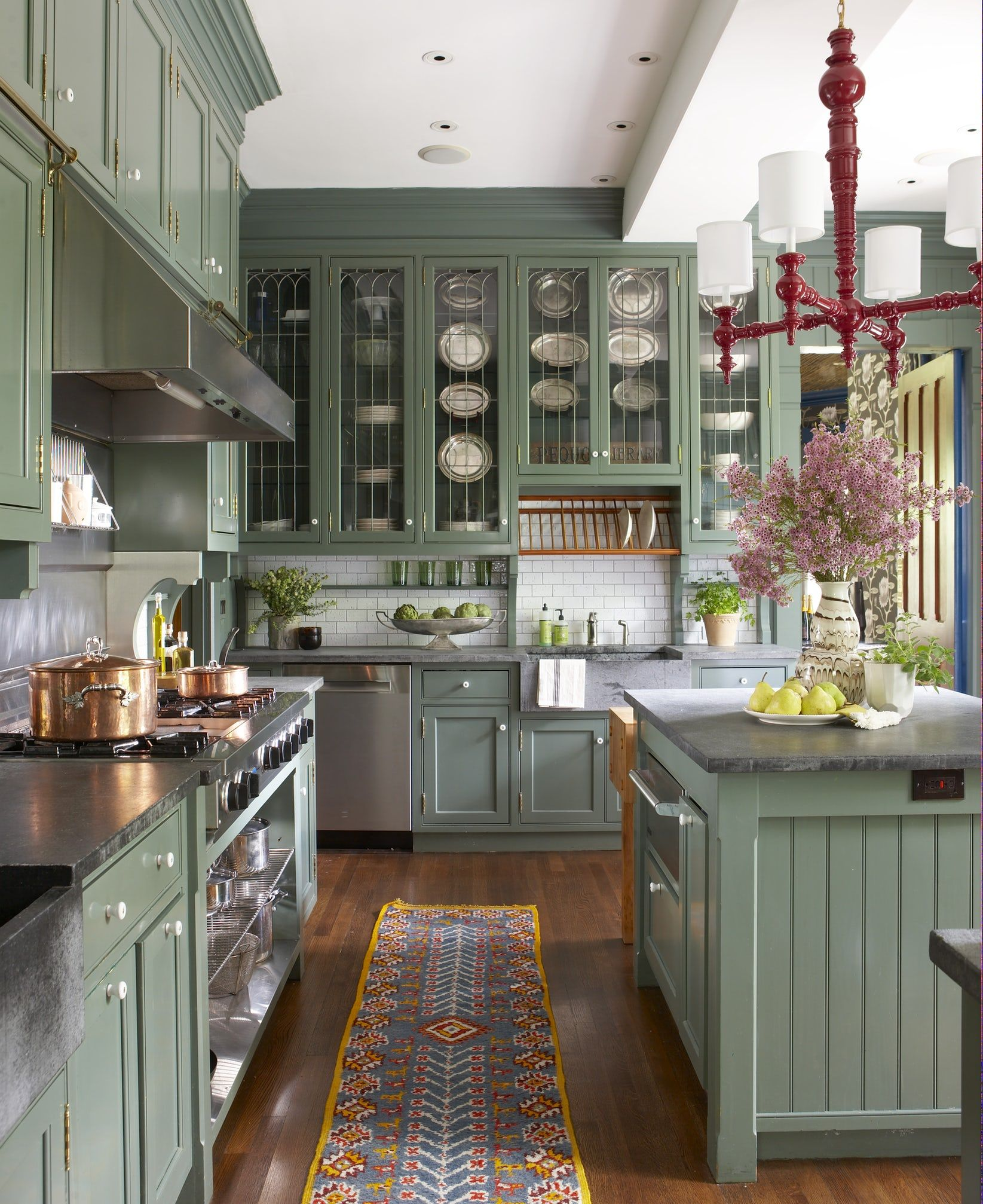 31 Green Kitchen Design Ideas Paint Colors For Green Kitchens