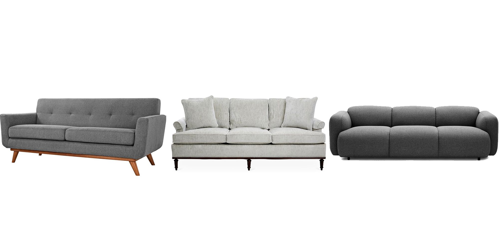 Watch living rooms from hgtv purple formal living room 03:08 purple formal living room 03:08 soft purple tones make sarah's enlarged living room formal but not fussy. 25 Grey Sofa Ideas for Living Room - Grey Couches For Sale