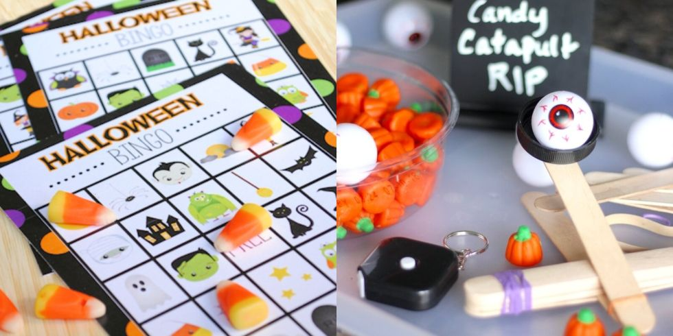 Trick or treat mystery box: 15 Best Halloween Games For Kids Fun Halloween Party Activities For Children
