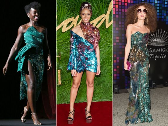 Celebrities wearing Halpern