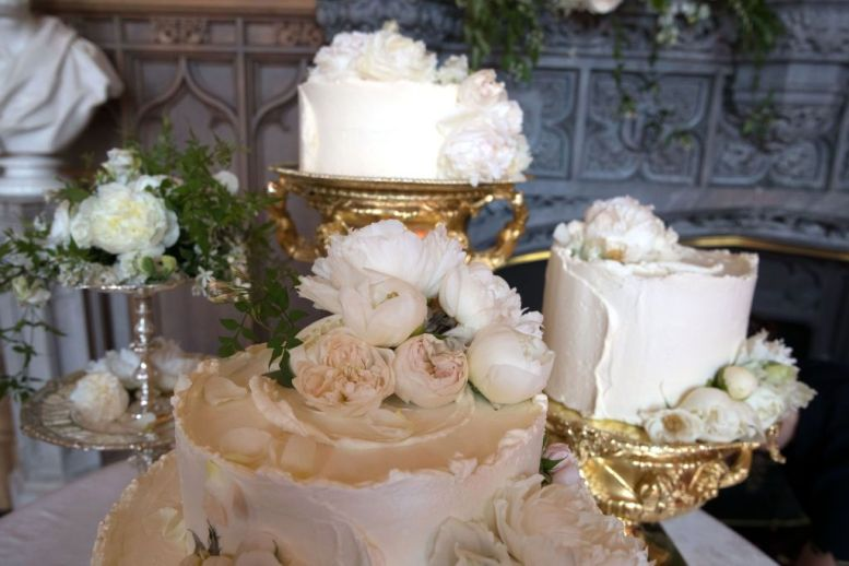 harry meghan wedding cake