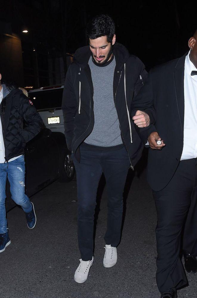 BuzzFoto Celebrity Sightings In New York - January 28, 2018