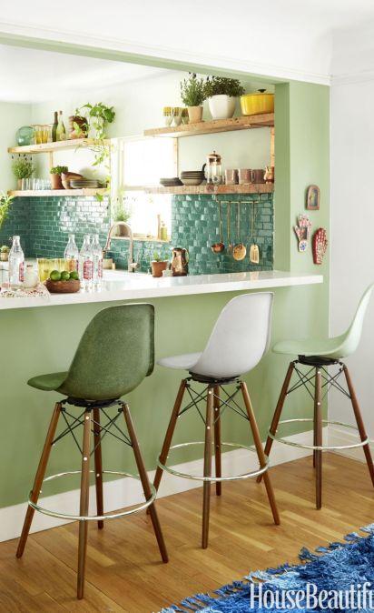 Kitchen paint colors green