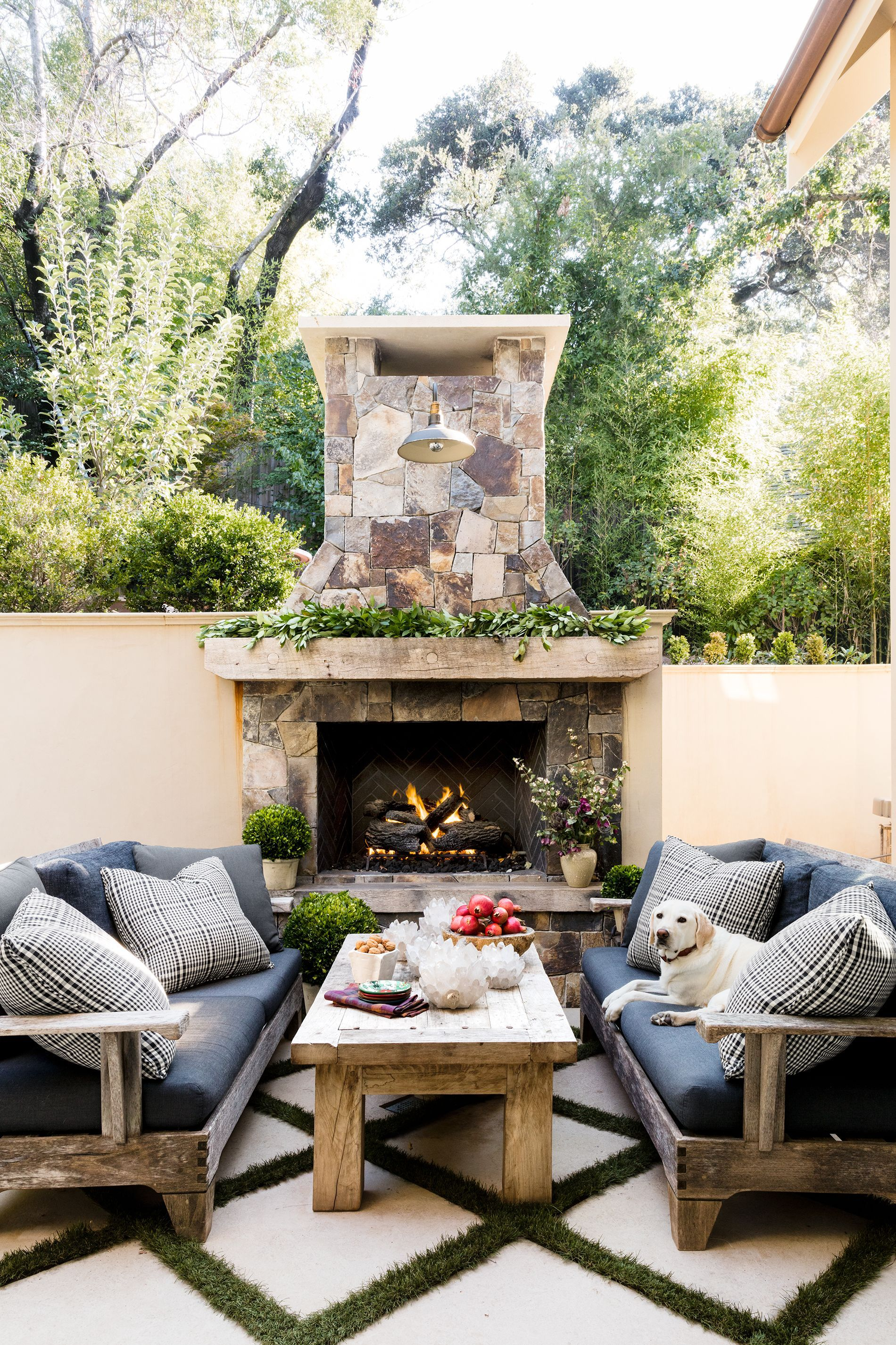 25 outdoor fireplace ideas outdoor