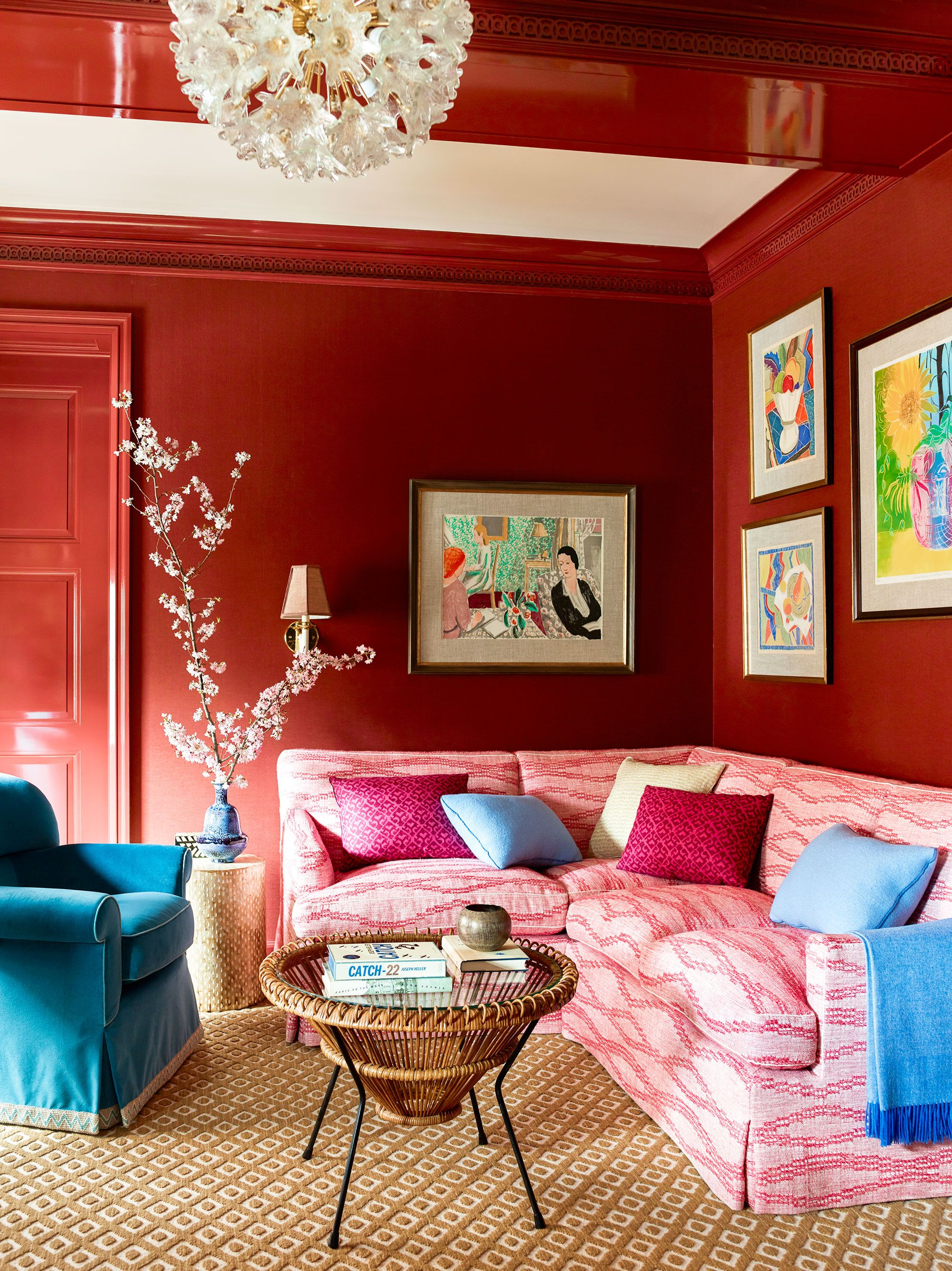 17 Best Small Living Room Ideas - How to Decorate a Small ... on Small Space Small Living Room Ideas  id=70638