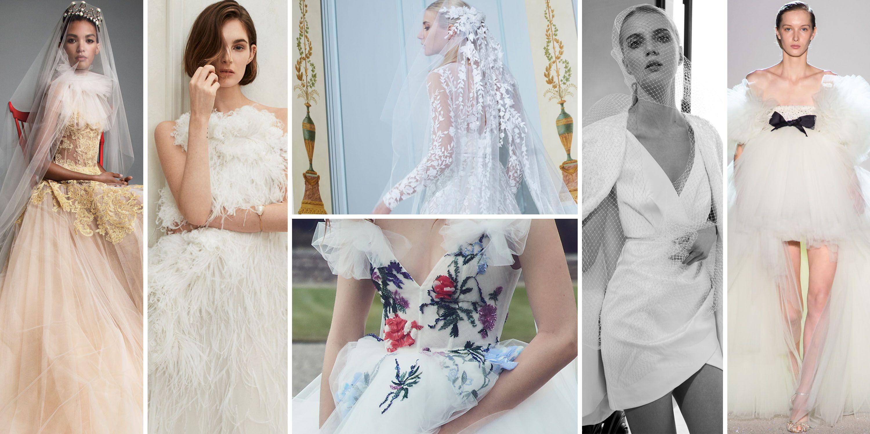 Short Wedding Dress With Detachable Long Train