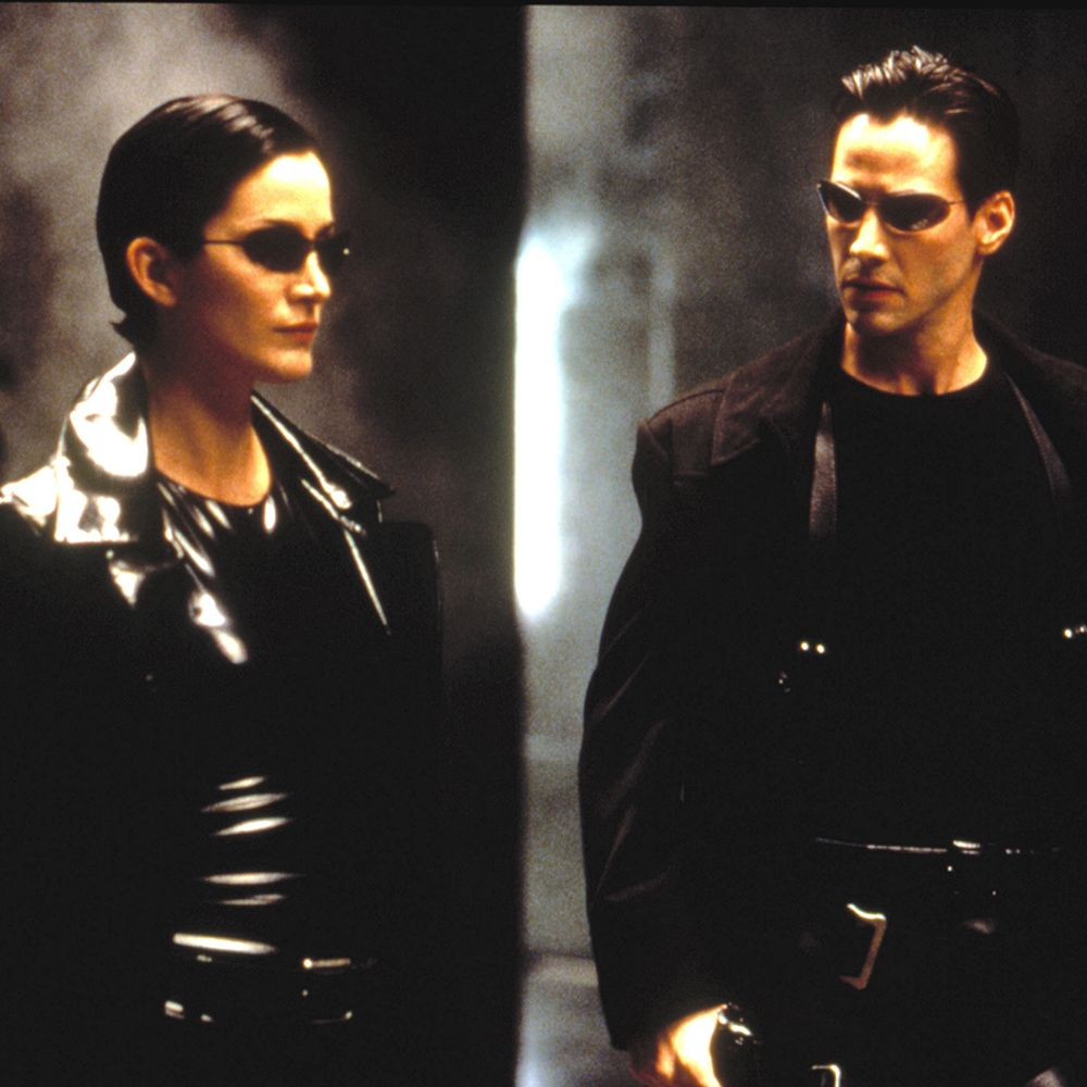 the matrix, carrie anne moss, keanu reeves, 1999 ©warner broscourtesy everett collection