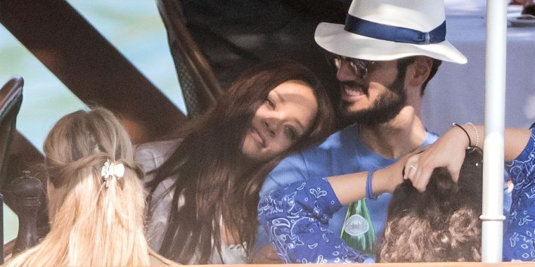 *PREMIUM-EXCLUSIVE* Rihanna is totally loved up as she holidays with her billionaire boyfriend Hassan Jameel in Italy