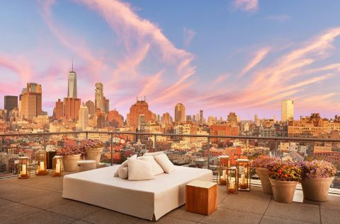 Courtesy Public Hotel This Rooftop Bar Set Against The New York