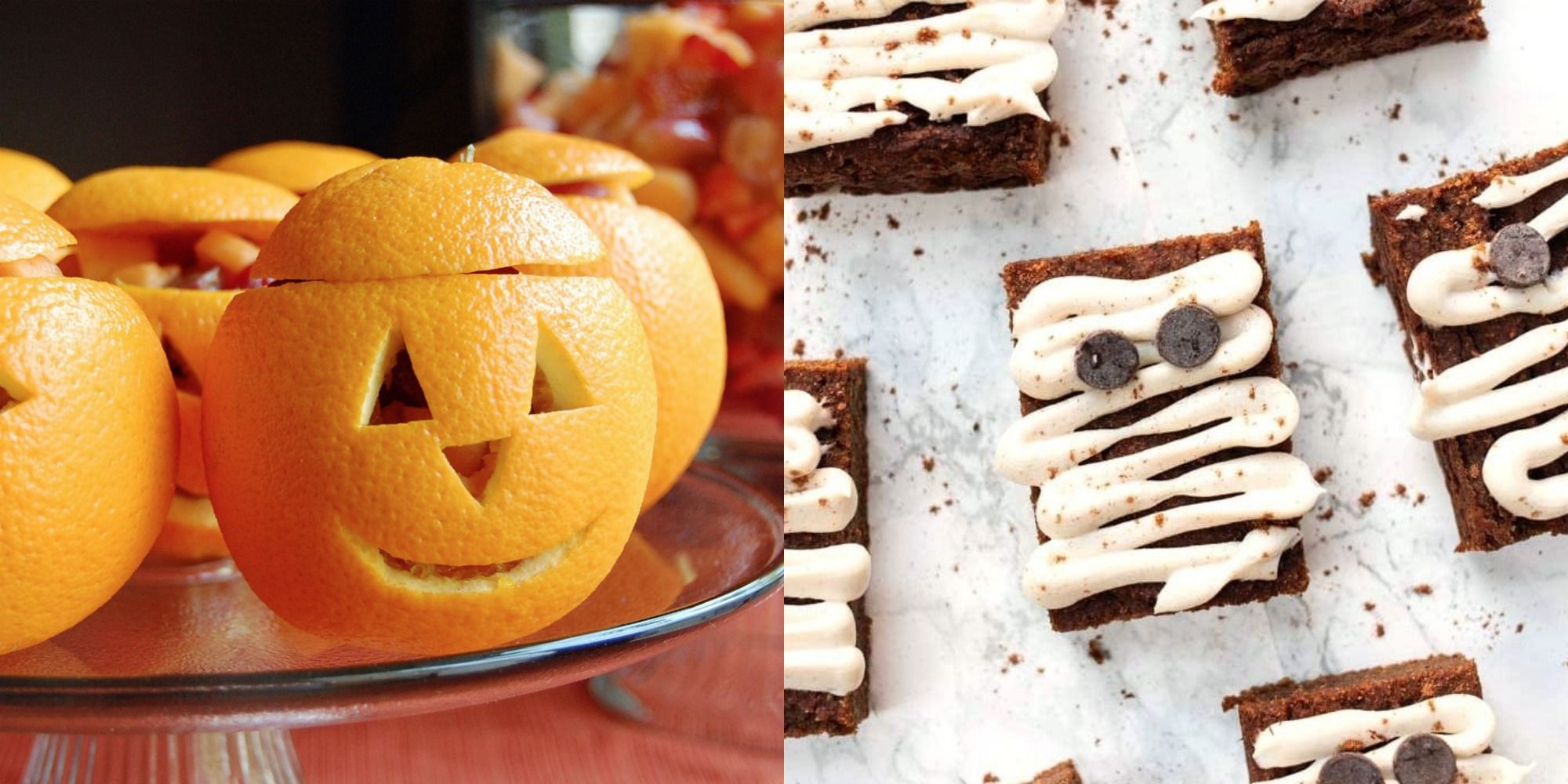 Watch diy halloween from diy power pumpkin carving 03:33 power pumpkin carving 03:33 amy matthews demonstrates the process of pumpkin carving with power tools. 30 Healthy Halloween Treats Snacks And Recipe Ideas 2021