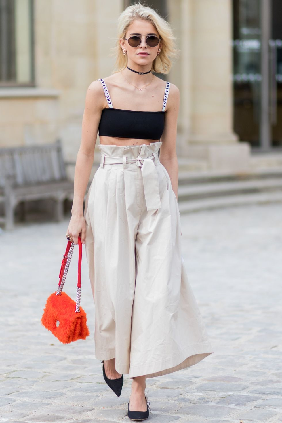 15 Wear It With High-Waisted Culottes