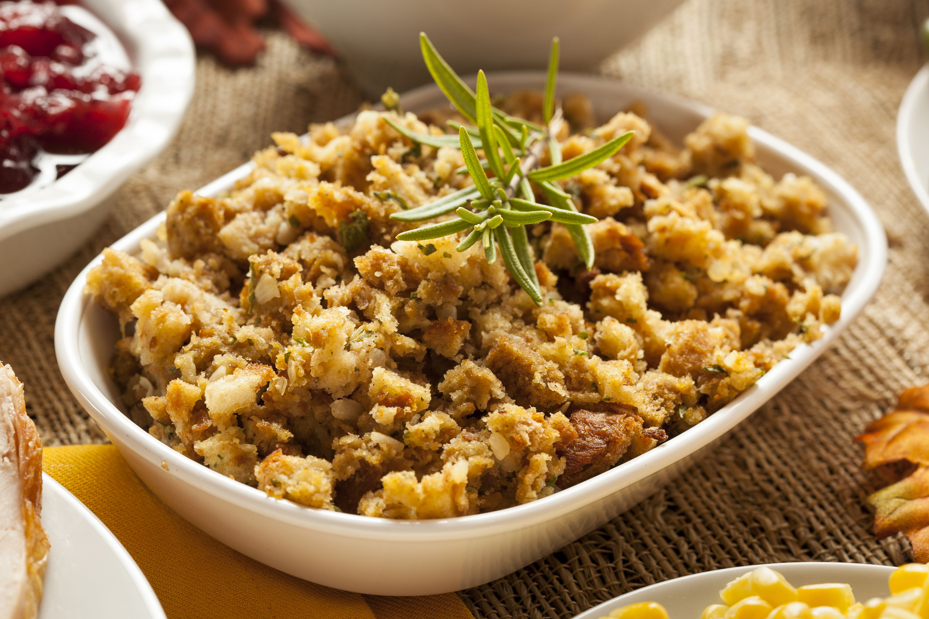 You might be left wondering where to put all of your belongings or how to make the space livable. Turkey Stuffing Recipe - Traditional Bread Stuffing with