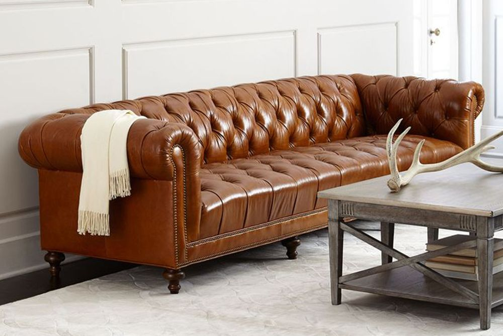9 Best Chesterfield Sofas to Buy in 2018   Reviews of Chesterfield     Massoud Davidson Tufted Seat Chesterfield Sofa