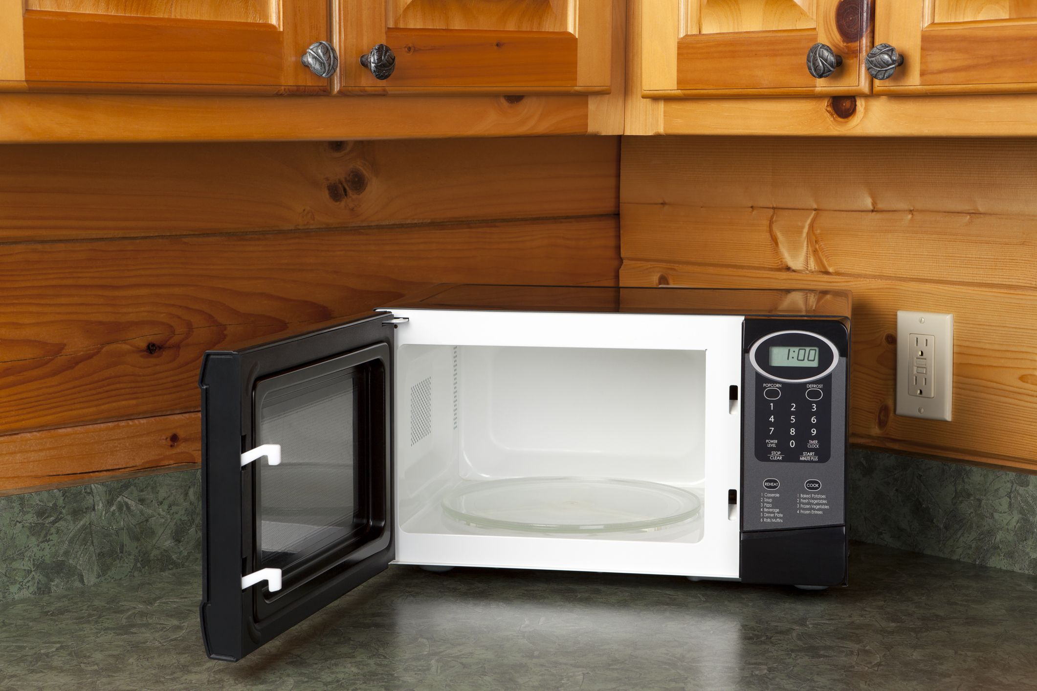 how to clean a microwave with household items