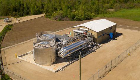 hydrostor storage facility