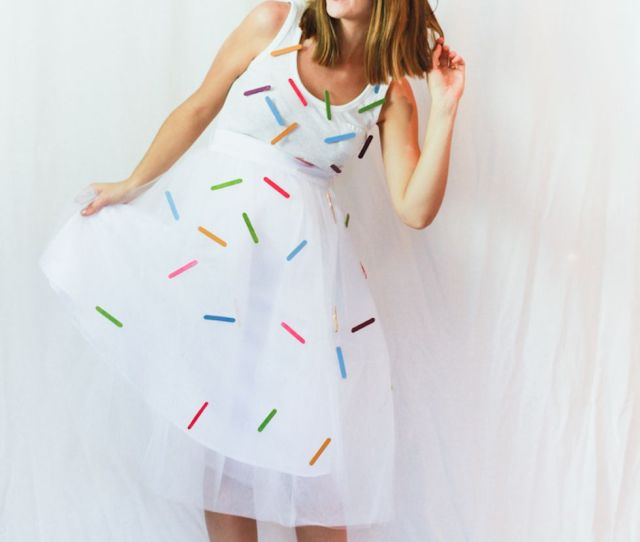 Ice Cream Cone Halloween Costume For Adults