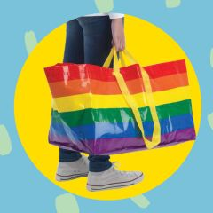 IKEA's Iconic Shopping Bag Is Now Available in Rainbow — FRAKTA Rainbow Tote