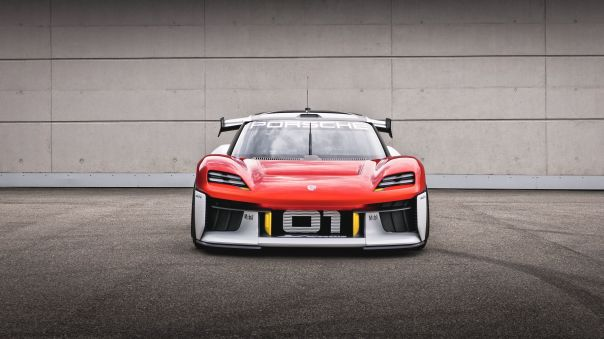 Porsche Mission R Concept Could Be a Future EV 718 In Disguise