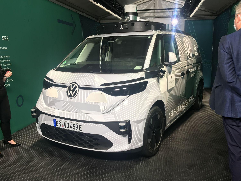 2024 volkswagen idbuzz microbus prototype