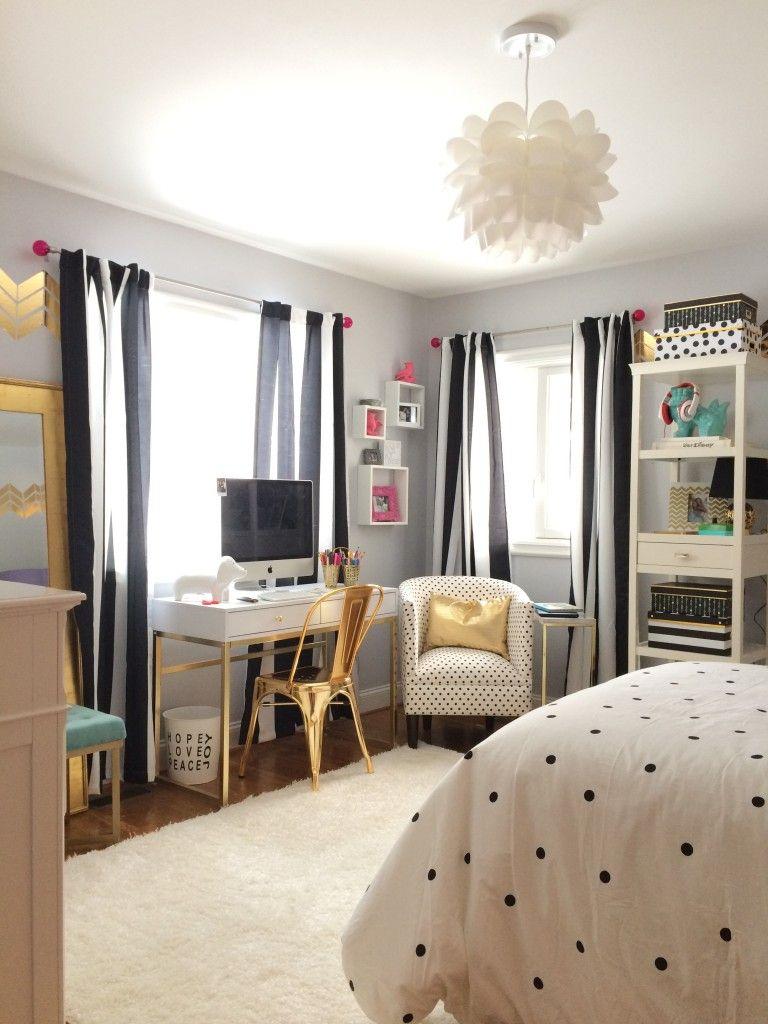 10 Best Teen Bedroom Ideas - Cool Teenage Room Decor for ... on Teenage Bedroom Ideas For Small Rooms  id=55422
