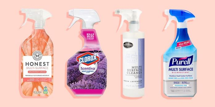 commercially-produced cleaners