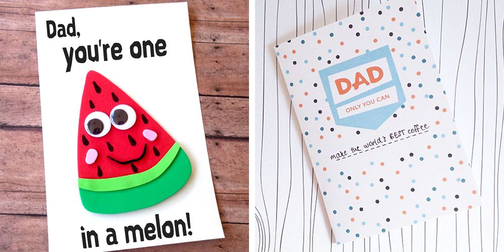 15 Free Fathers Day Cards DIY Printable Dad Cards