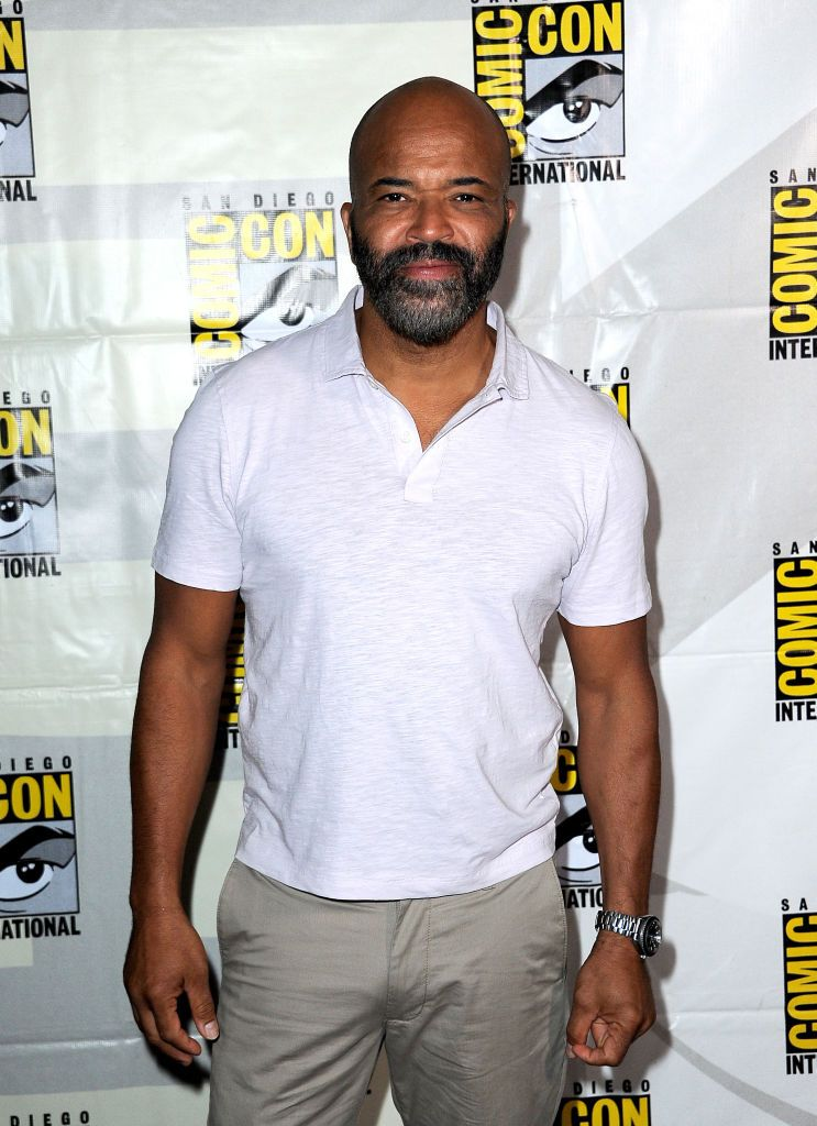 Jeffrey Wright joins the Westworld III panel during the 2019 Comic Con International at the San Diego Convention Center on July 20, 2019 in San Diego, California