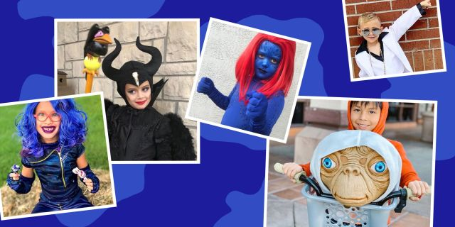 kids halloween costumes the descendants, maleficent, mystique, et, disco