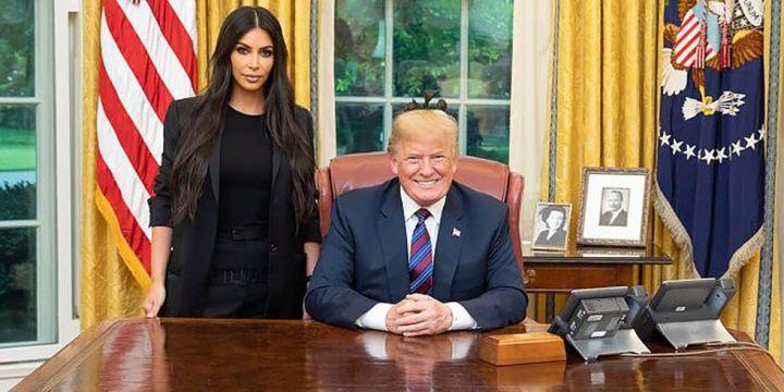 Image result for PHOTOS Kim Kardashian TRUMP