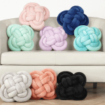 These Mainstays Pretzel Knot Pillows Are Only 12 At Walmart Knot Pillow Trend