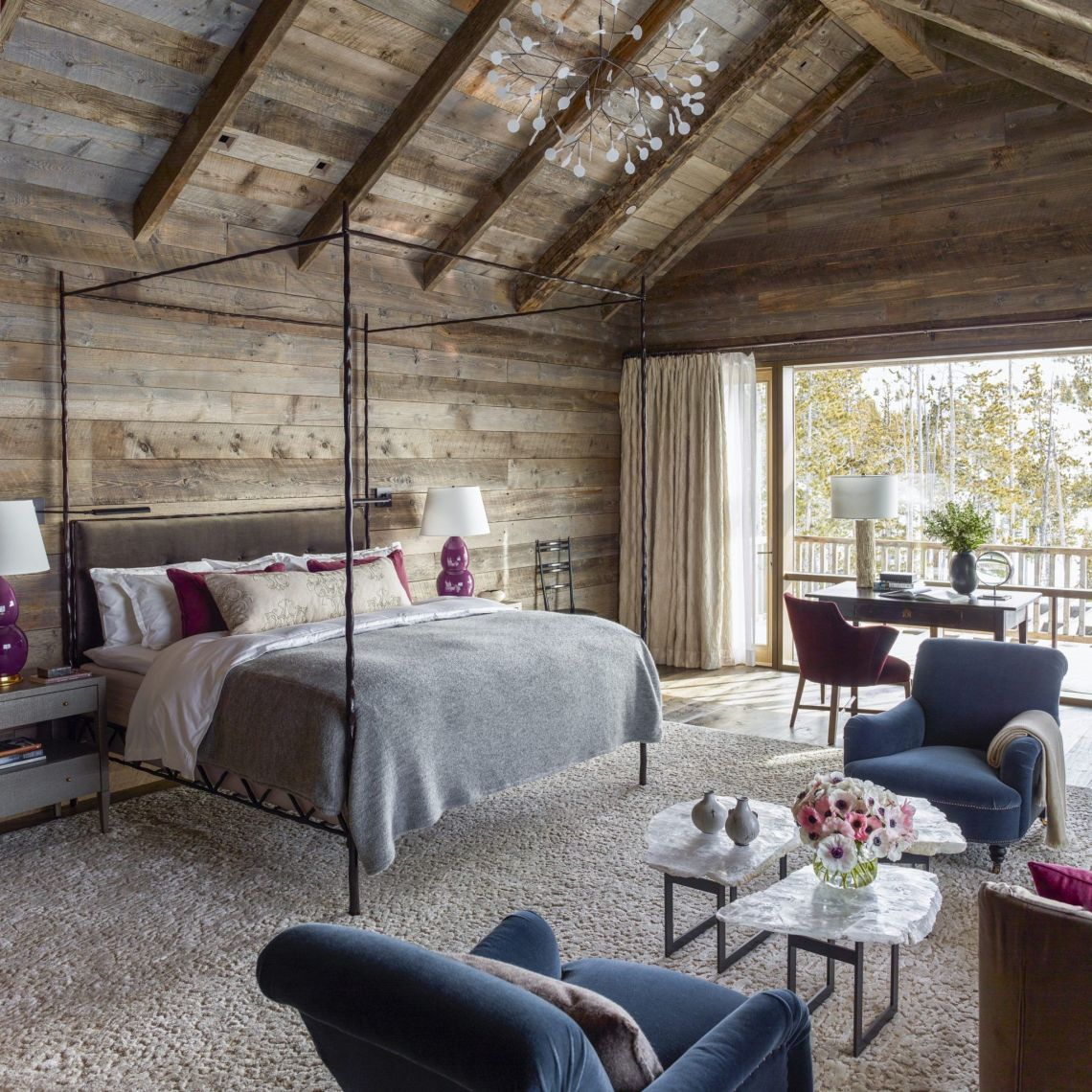 24 Cabin Style Bedrooms Inspired By A Rustic Getaway